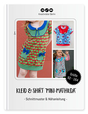 "Kleid & Shirt ""Mini-Mathilda"" Gr. 92 - 164"