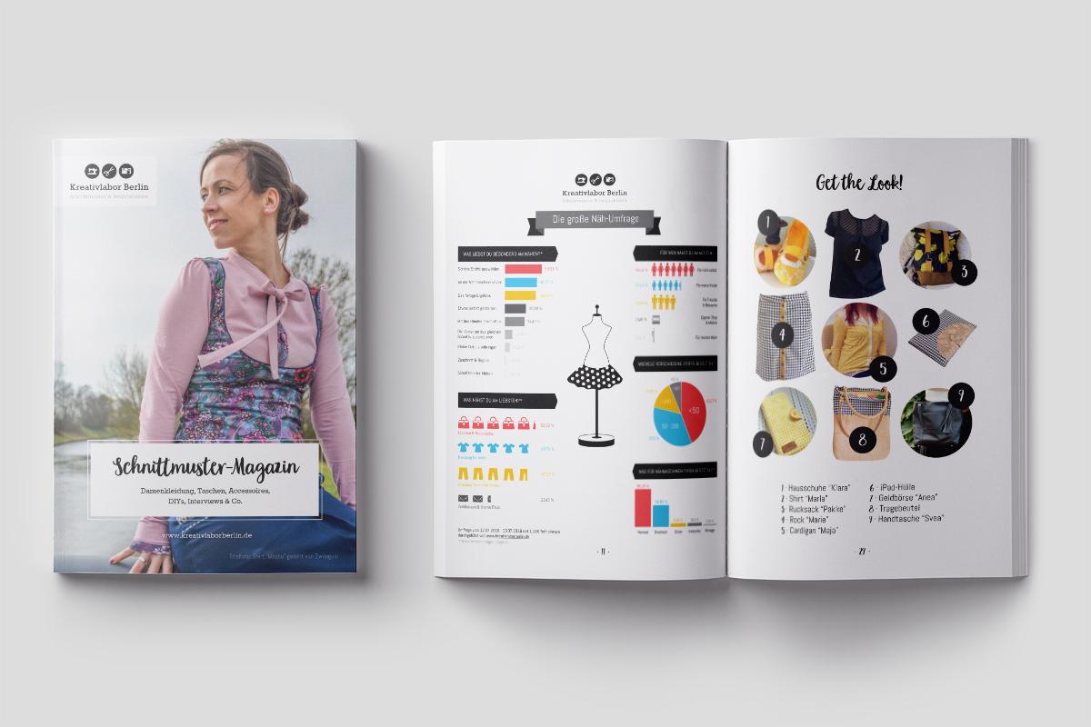 Kreativlabor Schnittmuster-Magazin
