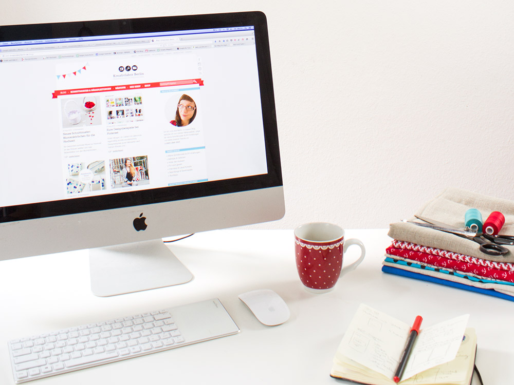 Einblick in mein Ebook für DIY-Blogger