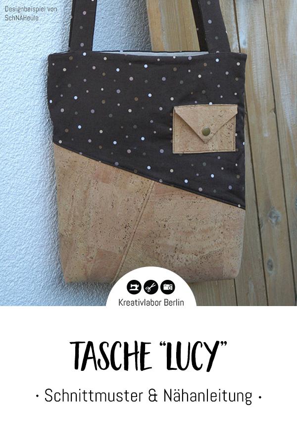 """Schnittmuster & Nähanleitung Handtasche """"Lucy"""""""