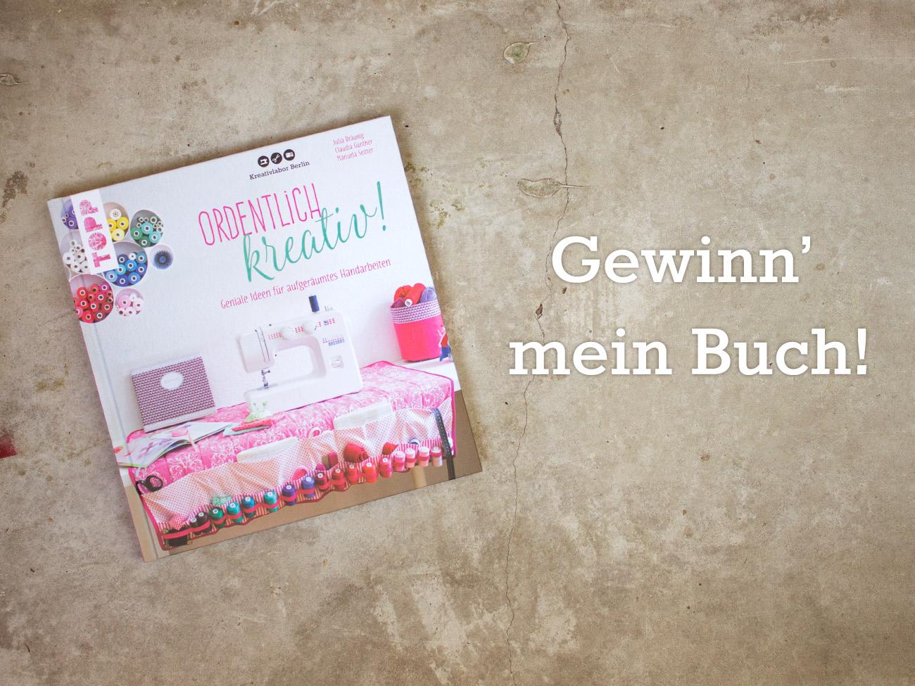 """Gewinn' mein Buch """"Ordentlich kreativ!"""""""
