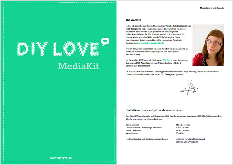 Media Kit DIY Love