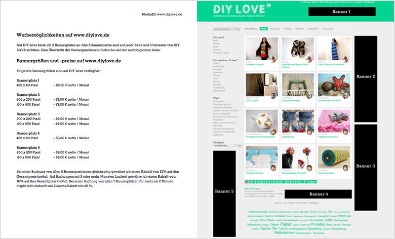 Media Kit DIY Love