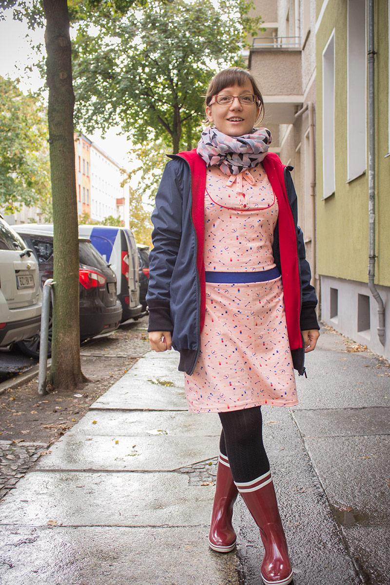 Kleid Masha & Tragejacke