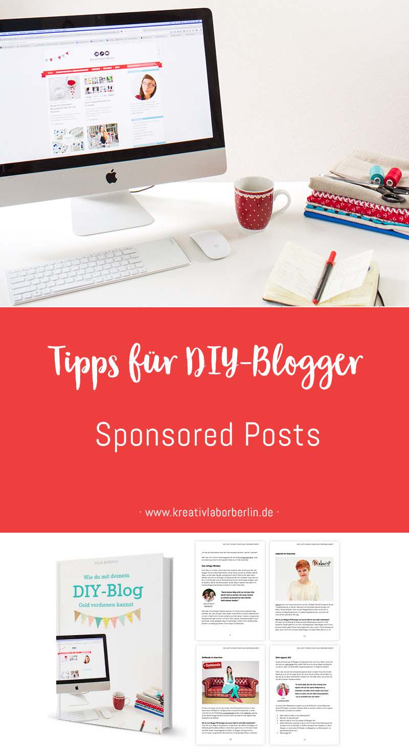 Tipps für DIY-Blogger: Sponsored Posts