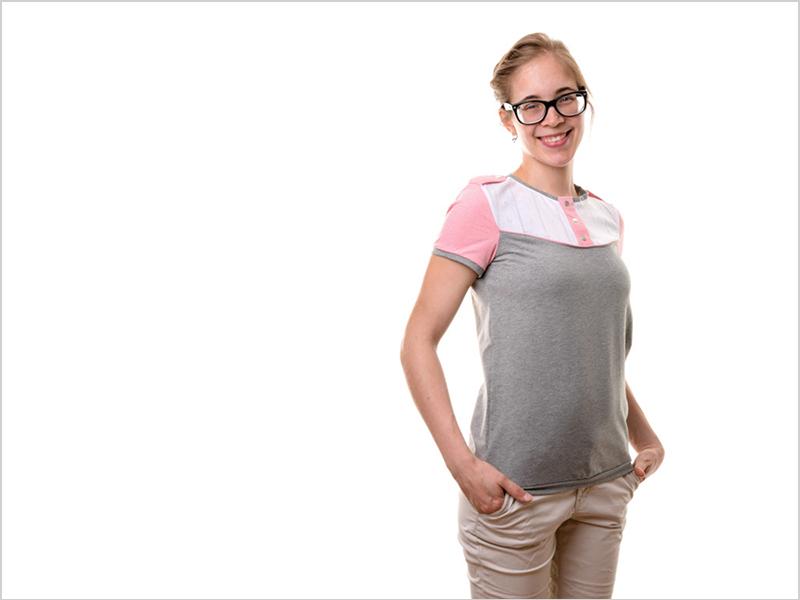 """Shirt """"Marla"""" genäht von Sara"""