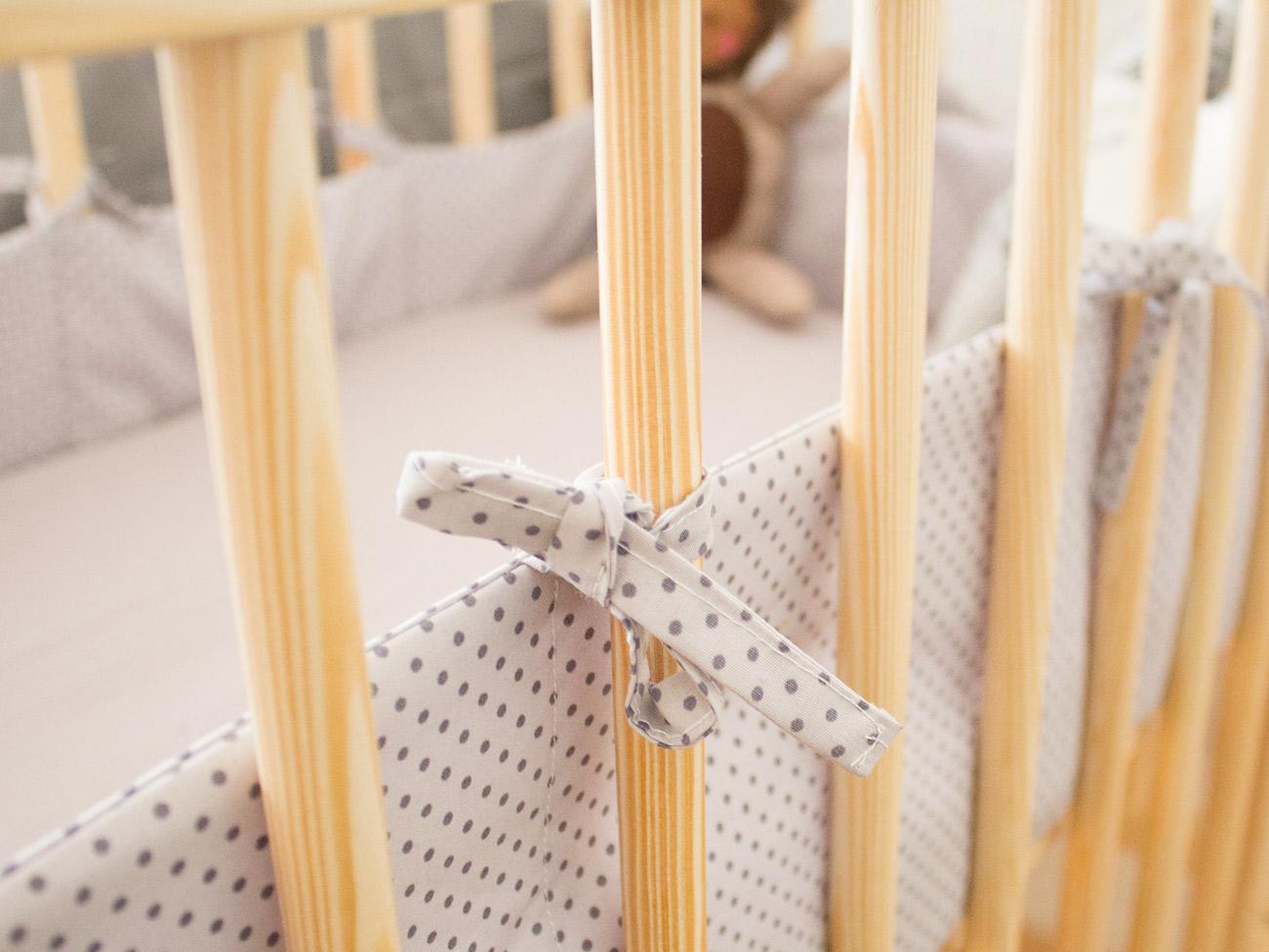Nähanleitung: bettnestchen & bettlaken fürs babybett