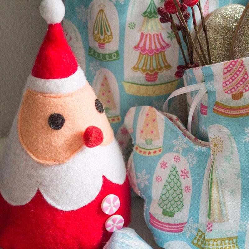 Wiederverwendbare Geschenkverpackungen zu Weihnachten