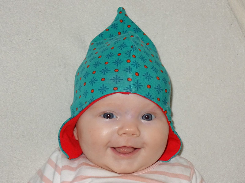Neue Schnittmuster: Baby-Mützen \
