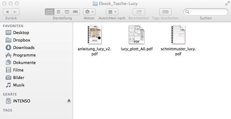 Schnittmuster downloaden und ausdrucken