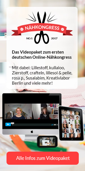 Videopaket zum Nähkongress: Alles übers Nähen