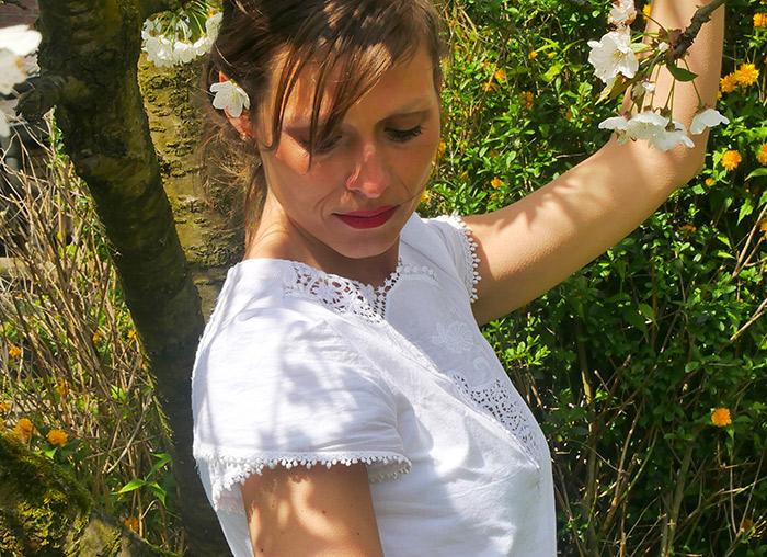 Nähanleitung: Kurze Tulpenärmel