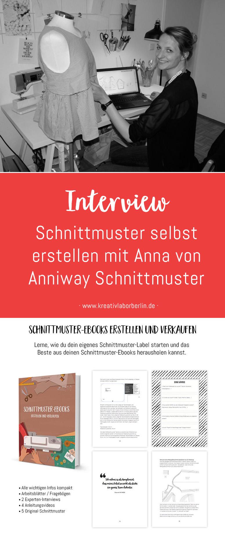 Im Interview: Schnittmuster-Designerin Anna von Anniway Schnittmuster