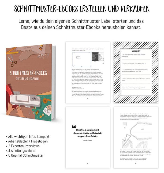 Schnittmuster-Ebooks erstellen und verkaufen (Ebook) - Kreativlabor ...