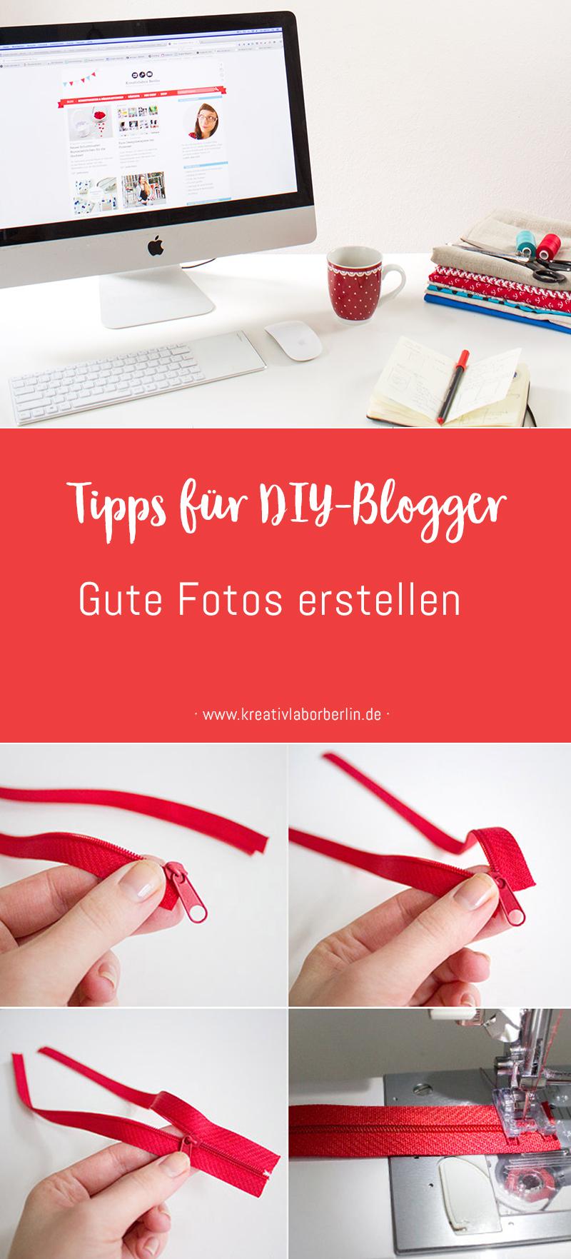 Tipps für DIY-Blogger: Gute Fotos erstellen
