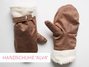 "Fausthandschuhe ""Alva"": Schnittmuster für Kinder & Erwachsene"