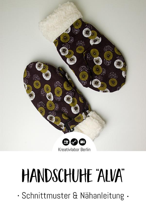 "Schnittmuster & Nähanleitung Handschuhe ""Alva"" für Erwachsene & Kinder"