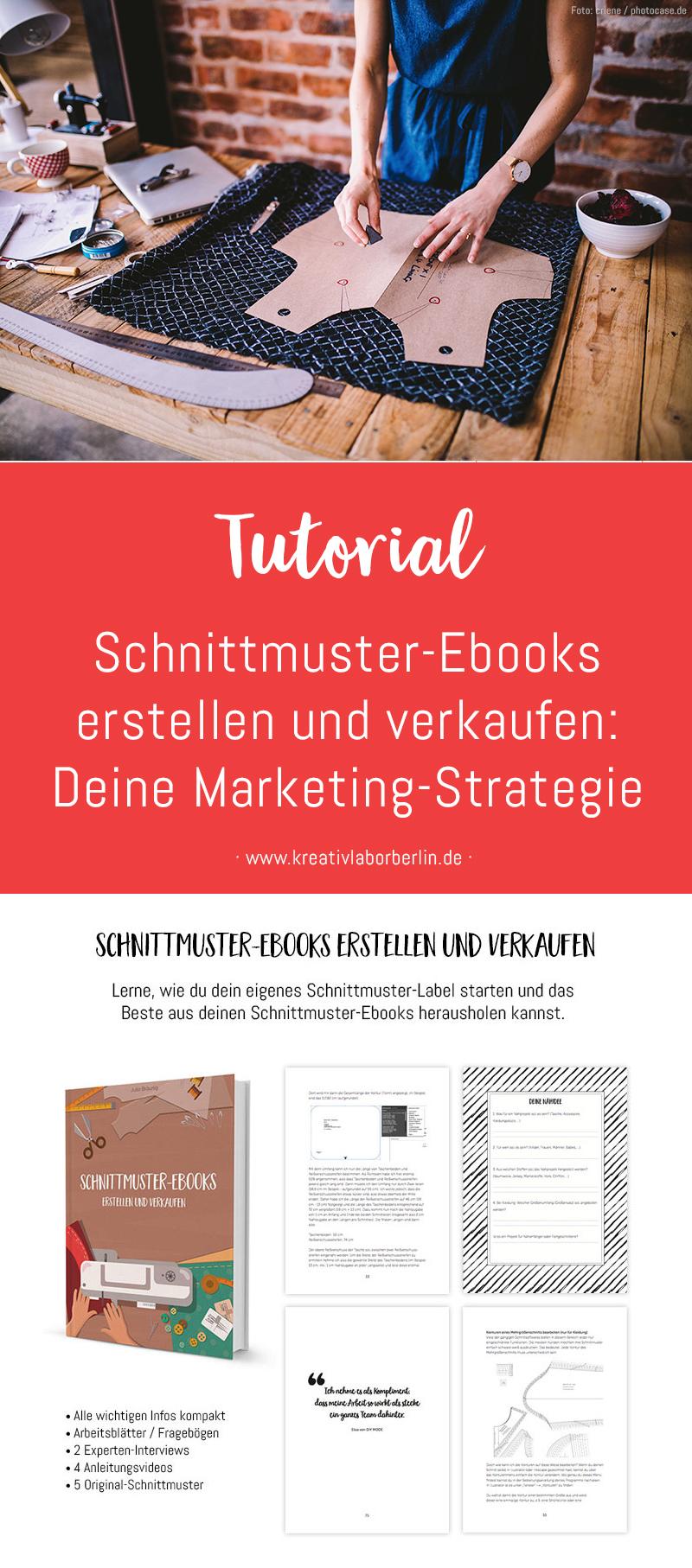 Schnittmuster-Ebooks erstellen und verkaufen: Deine Marketing-Strategie