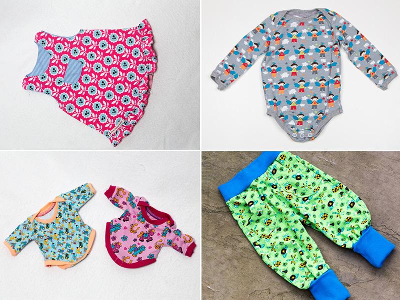 Bekannt Erfahrungen einer Nähoma: Babykleidung selbst nähen - Kreativlabor WK79