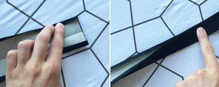 Tutorial: Gurtband aus Baumwollstoff oder Kunstleder / Kork selbst nähen