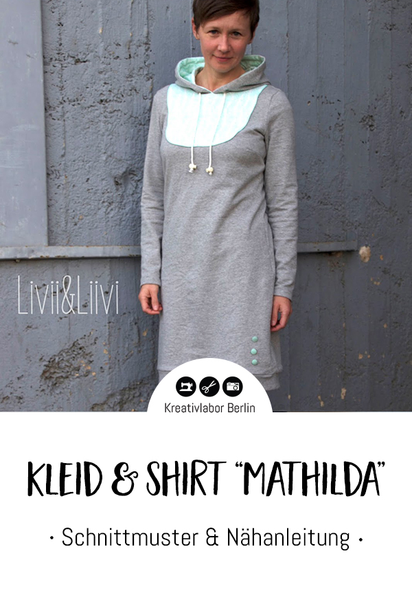 "Schnittmuster & Nähanleitung Kleid & Shirt ""Mathilda"""