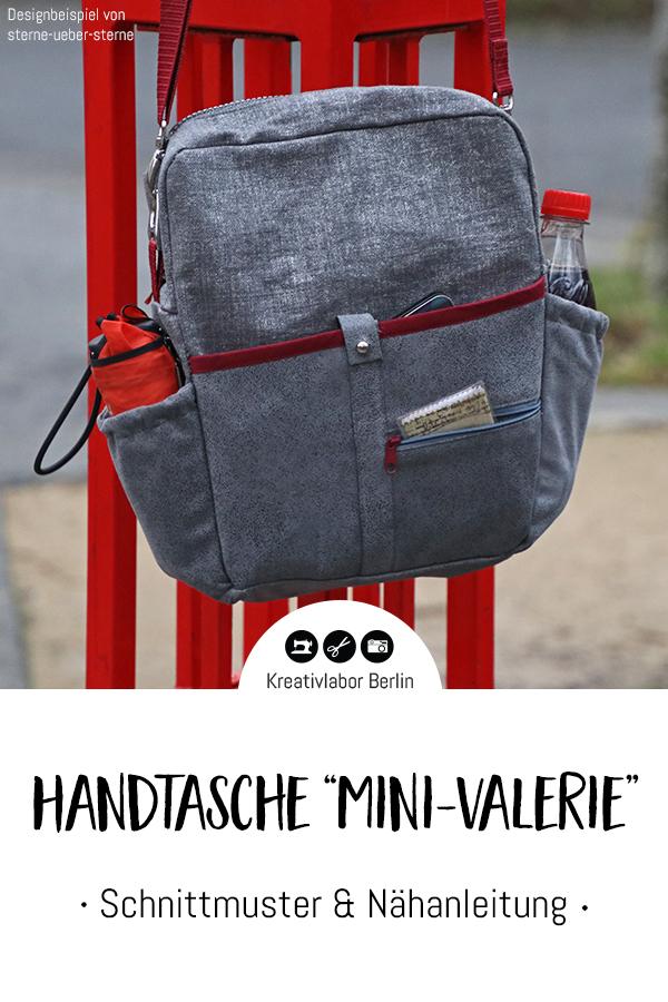 """Schnittmuster & Nähanleitung Handtasche """"Mini-Valerie"""""""