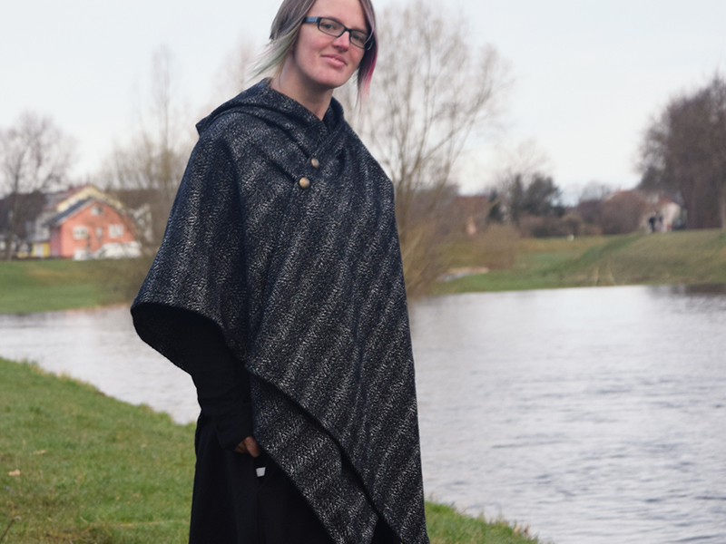 Neues Schnittmuster: Poncho \