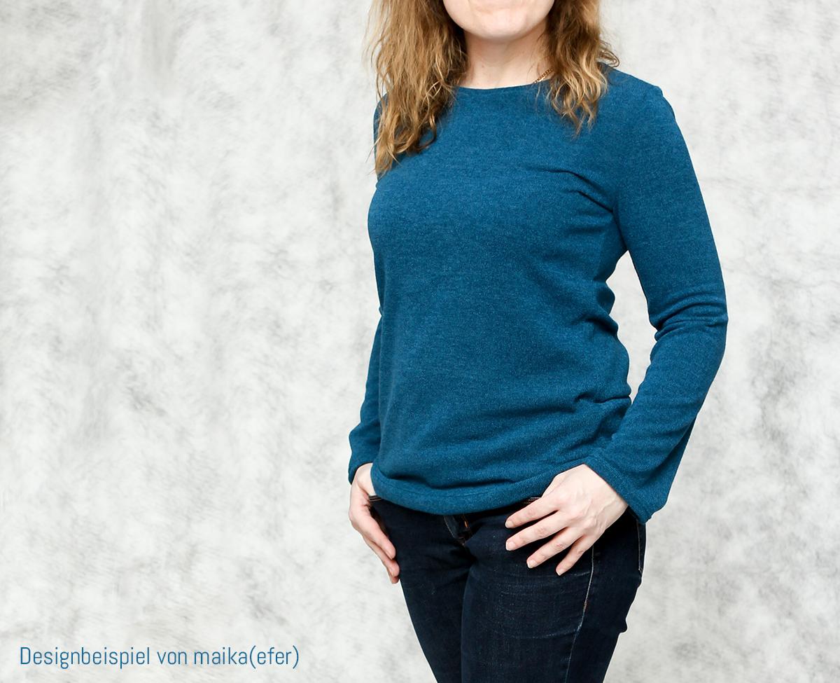 """Neues Schnittmuster: Pullover """"Ella"""""""