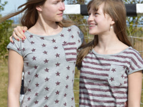 """Shirt """"Stella"""" genäht von Frau Schnett"""