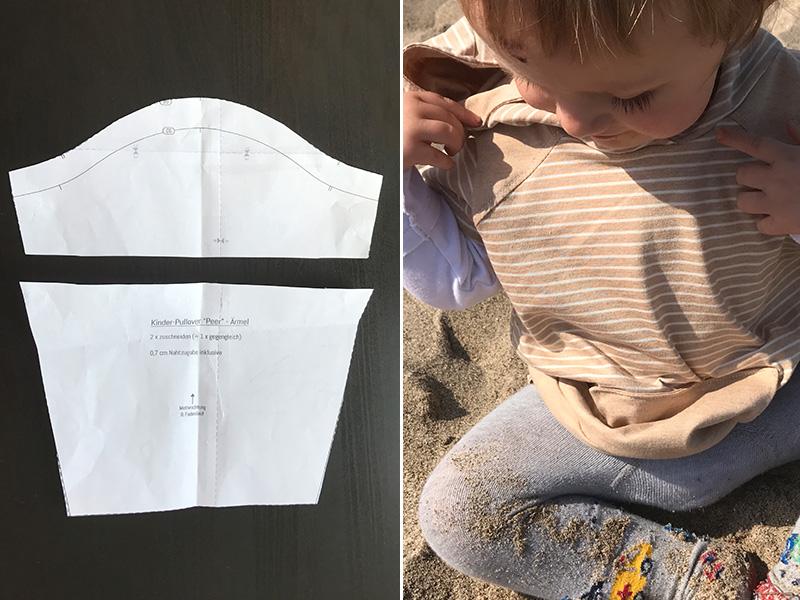 """Kinder-Pullover """"Peer"""" als Shirt nähen"""