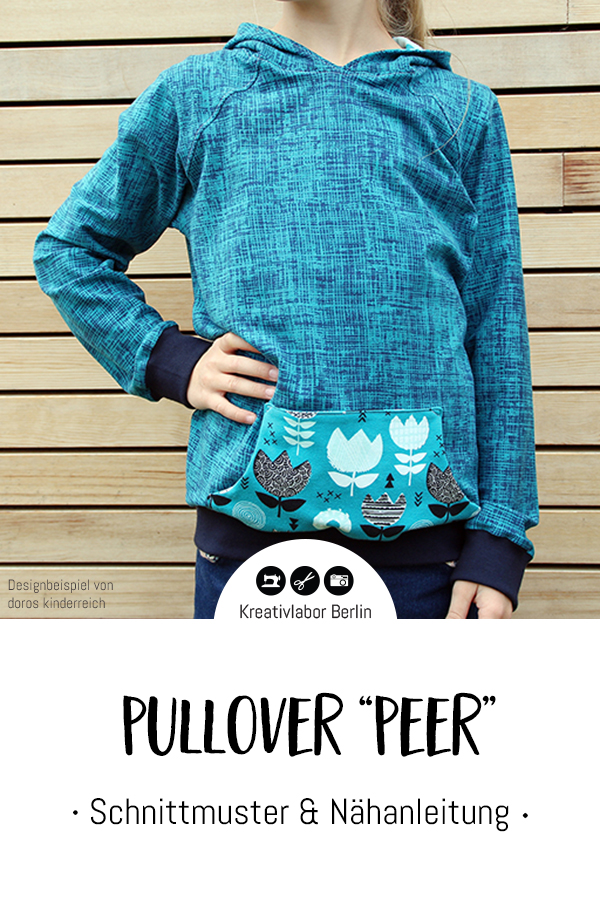 Neues Schnittmuster: Pullover \