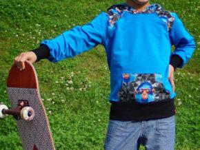 """Neues Schnittmuster: Pullover """"Peer"""" genäht von frechdachs"""