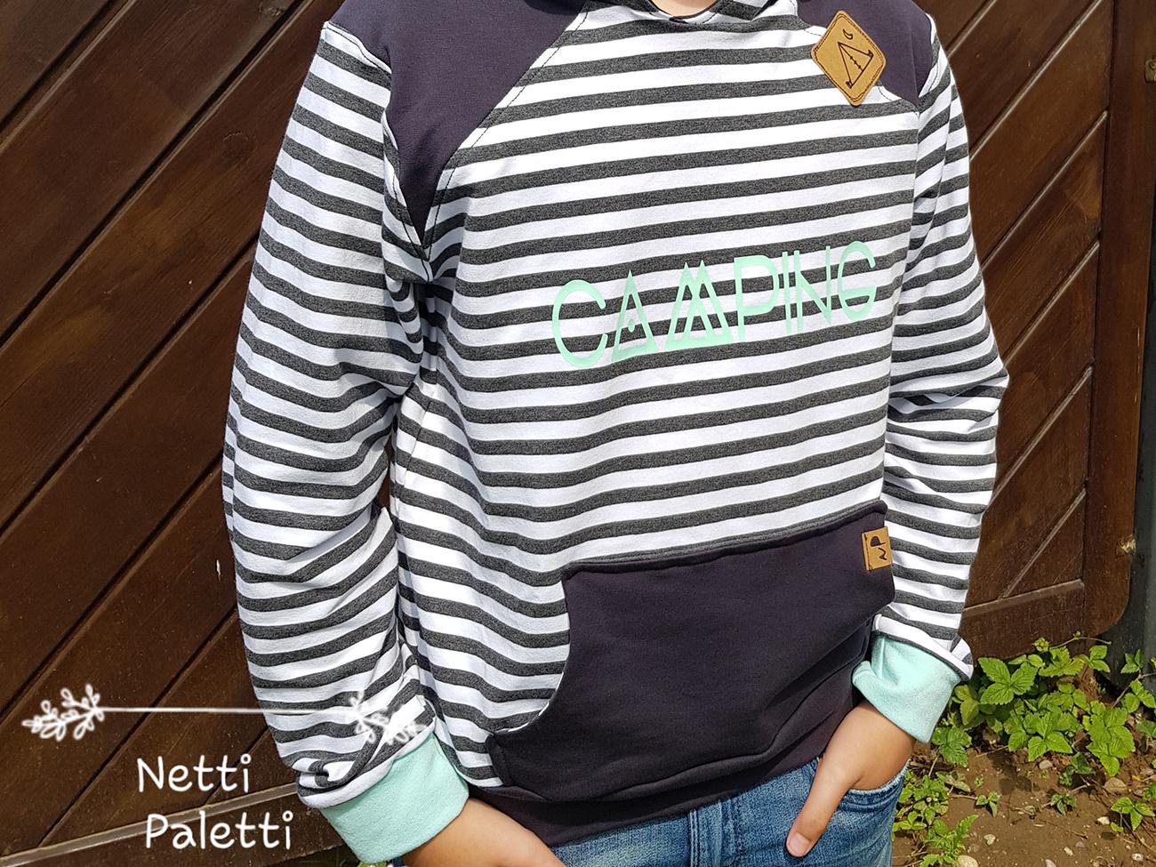 """Neues Schnittmuster: Pullover """"Peer"""" genäht von Netti Paletti"""