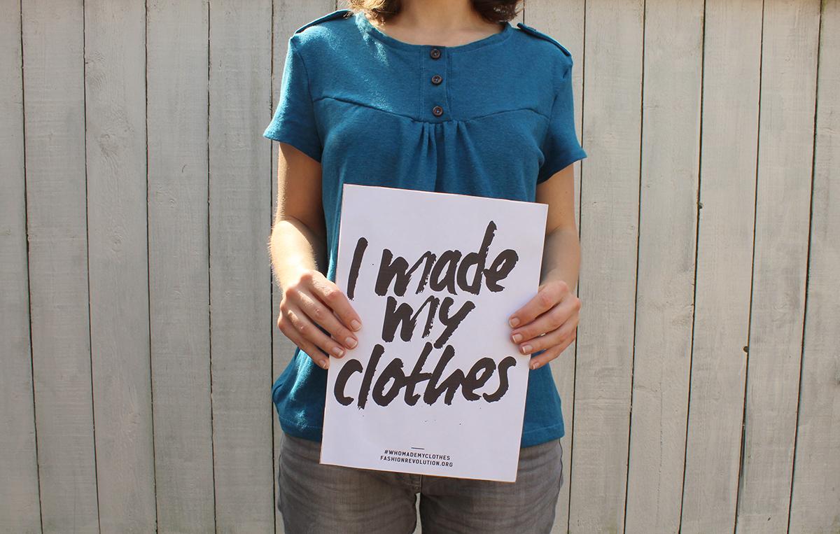 "Shirt ""Marla""- Fashion Revolution"