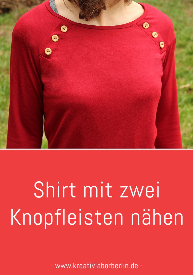 "Pullover ""Lova"" mit Holzknöpfen"