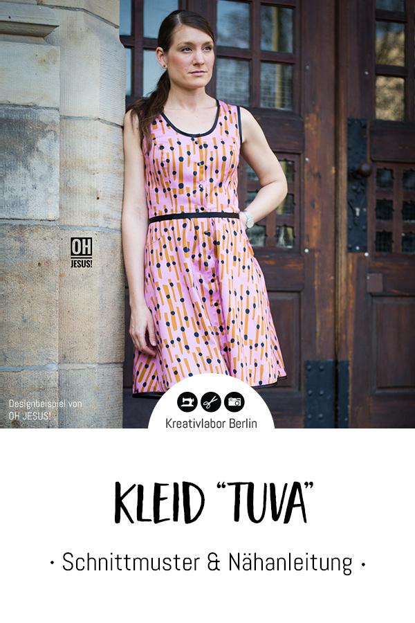 "Schnittmuster & Nähanleitung Kleid ""Tuva"""