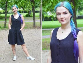 """Kleid """"Tuva"""" genäht von Frau Ausverkauft"""