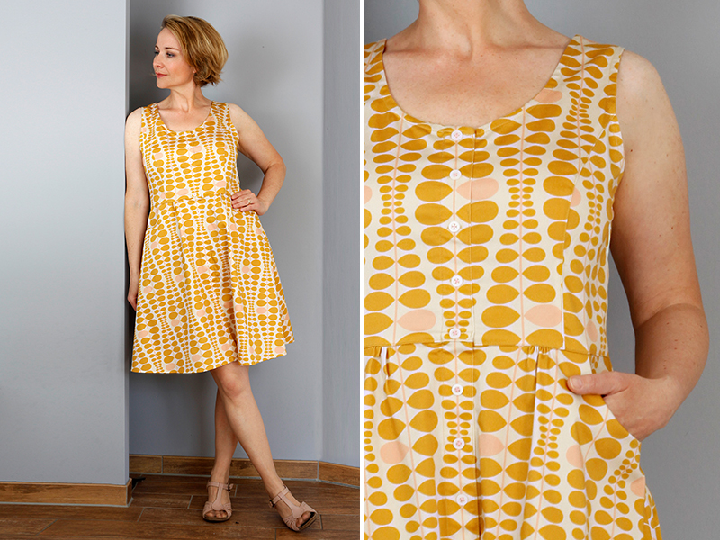 Neues Schnittmuster: Kleid \