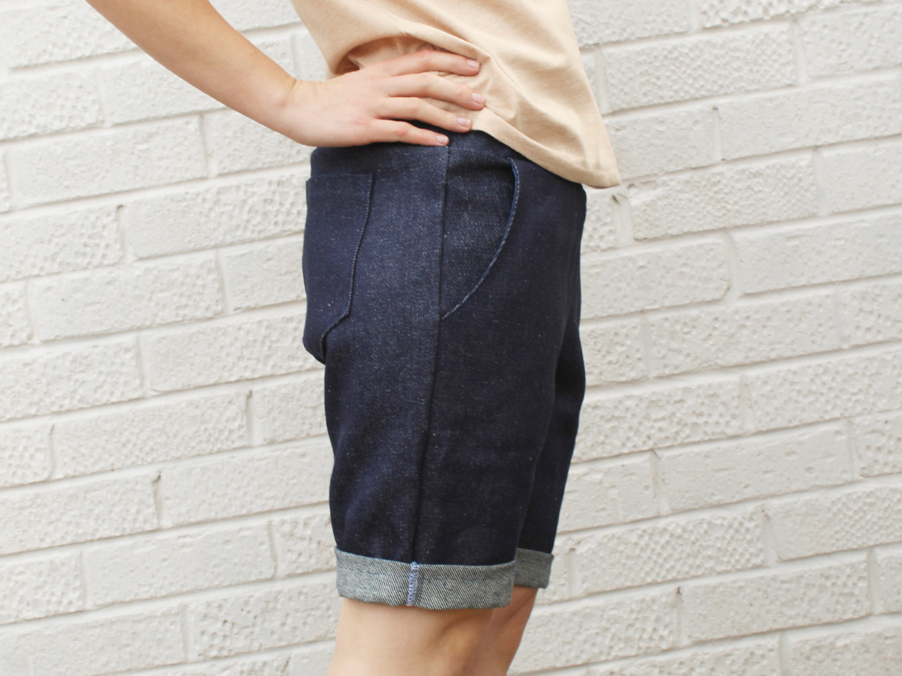 Shorts aus Denim nähen