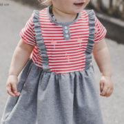 "Neues Schnittmuster: Kinderkleid ""Mila"""