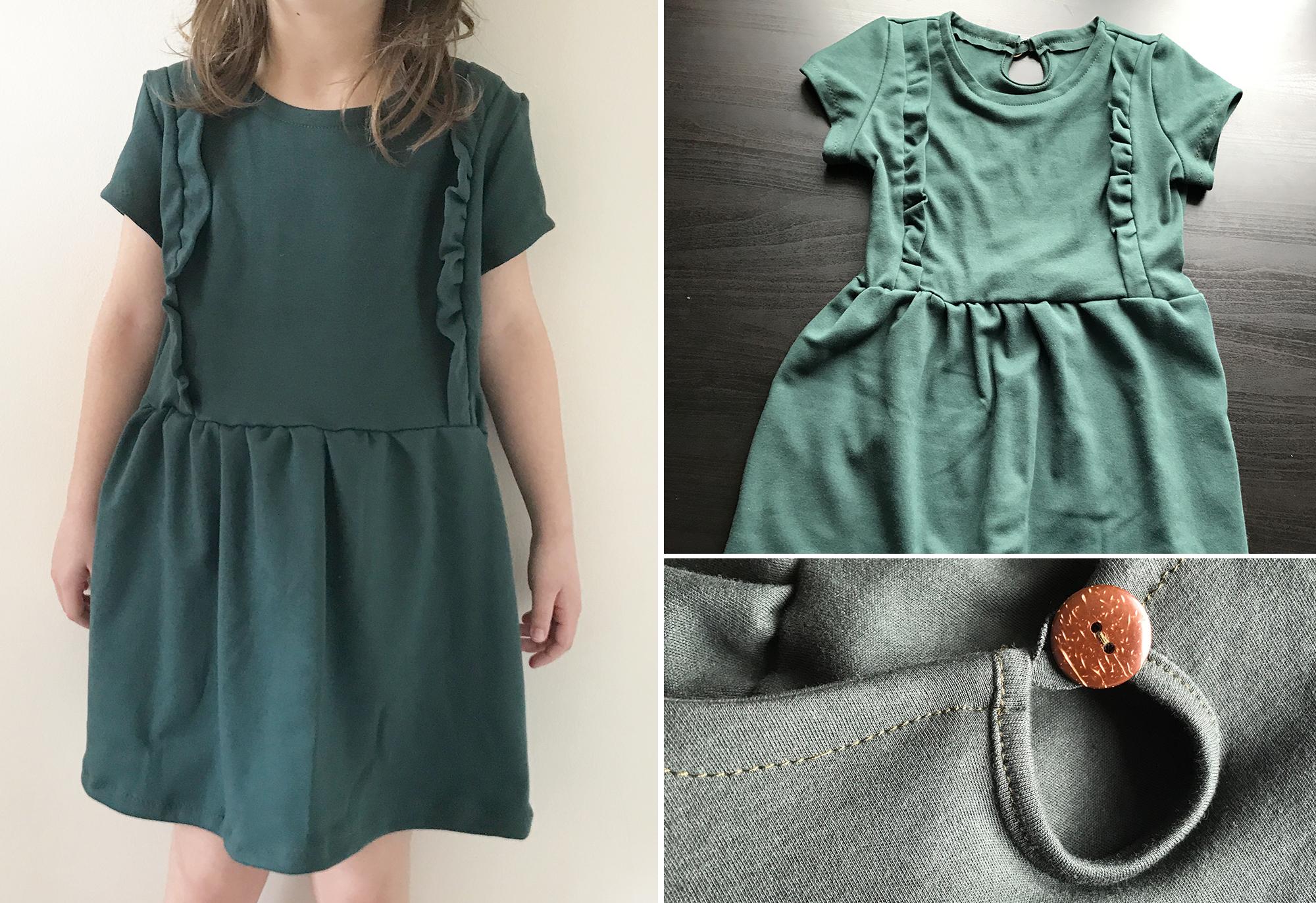 "Unser Kinderkleid ""Mila"" in drei Varianten"