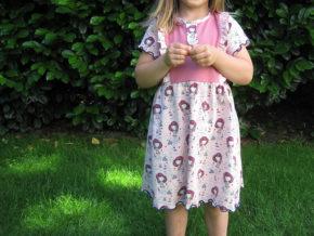 """Kinderkleid """"Mila"""" genäht von soemnad_ger_lycka"""