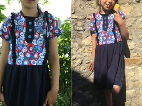 "Kinderkleid ""Mila"" genäht von JacquelinesCreativeWorld"