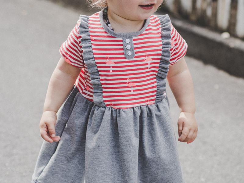"""Kinderkleid """"Mila"""" genäht von Atelier Elimi"""