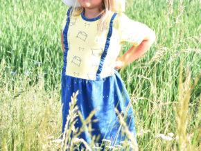 """Kinderkleid """"Mila"""" genäht von Goldsohn & Schwesterherz"""