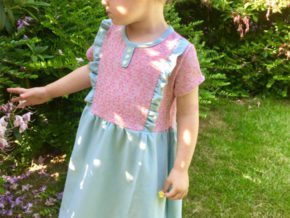 "Kinderkleid ""Mila"" genäht von Inga Reg"
