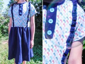 "Kinderkleid ""Mila"" genäht von Kleine Eule Nähglück"