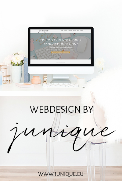 Webdesign by junique