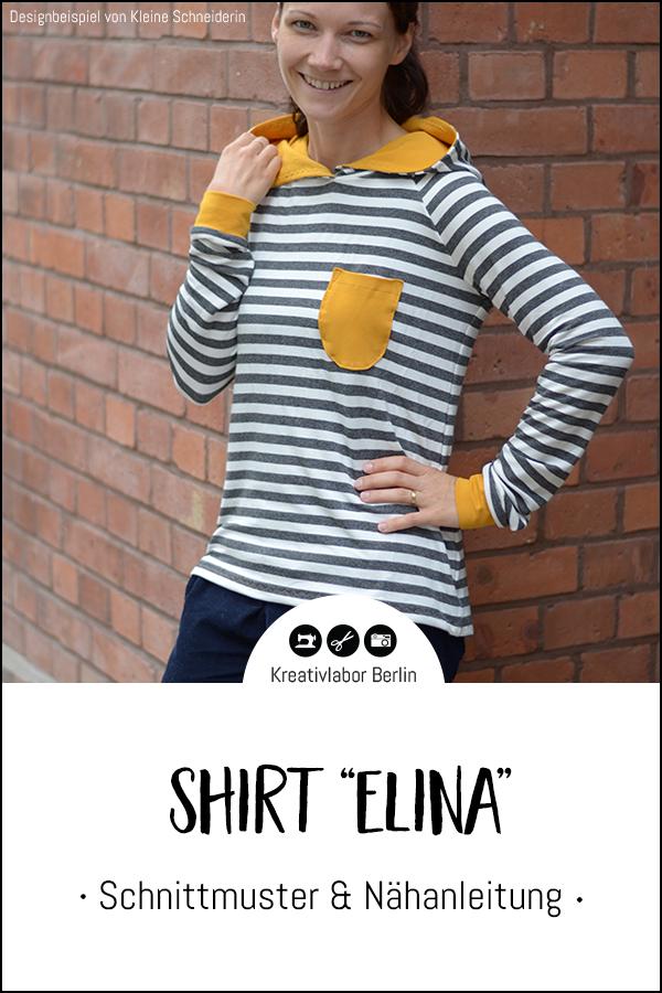 """Shirt """"Elina"""" genäht von Kleine Schneiderin"""