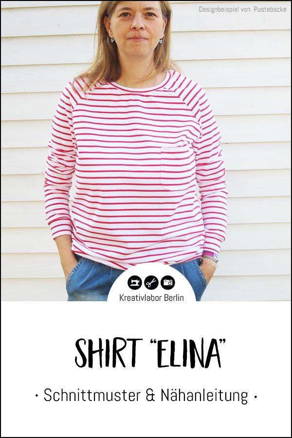 "Shirt ""Elina"" genäht von Pustebacke"